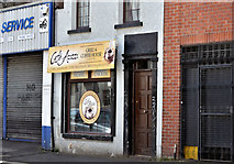 J3373 : Café Azizzi, Ventry Street, Belfast (April 2016) by Albert Bridge