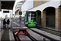 TQ2470 : Tramlink at Wimbledon by Peter Trimming