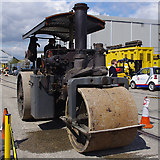 TQ1979 : Steam roller at London Transport Museum Depot by Ian Taylor