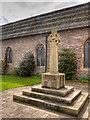 SO0428 : War Memorial and Garden, St Mary's Church by David Dixon