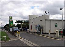 TQ0975 : BP Hatton Cross by Andrew Tatlow
