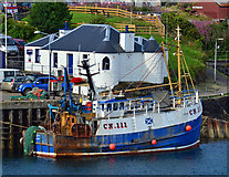 NM8529 : Ocean Maid at South Pier, Oban - August 2012 by The Carlisle Kid