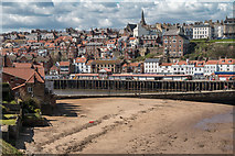 NZ8911 : Whitby from Cliff near East Pier, Yorkshire by Christine Matthews