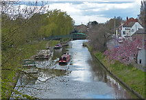 SK8975 : Fossdyke Canal in Saxilby by Mat Fascione