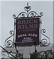 TG3112 : Sign for the Brick Kilns public house, Little Plumstead by JThomas