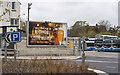 J5081 : Advert, Bangor by Rossographer
