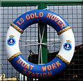 NS2975 : TS Gold Rover lifebelt by Thomas Nugent