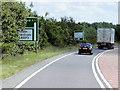 SK9650 : A17, North Heath Lane by David Dixon