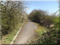 TL1814 : Footpath to Ayot Green Way by Adrian Cable