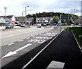 SS7597 : This way to the car park, Prince of Wales Drive, Neath by Jaggery