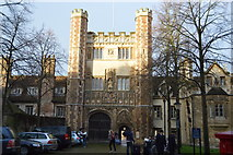 TL4458 : The Great Gate, Trinity College by N Chadwick