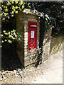 TL2112 : Lemsford Church George V Postbox by Adrian Cable