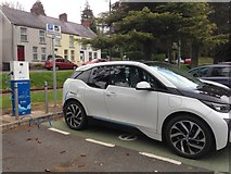 H4573 : Electric vehicle charging point, Omagh by Kenneth  Allen