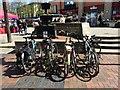 SK5236 : Full bike racks in The Square by David Lally