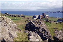 NM2824 : Iona Abbey from Cnoc Mòr by Alan Reid