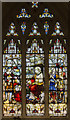 SK5804 : Parable of The Talents window, Leicester Cathedral by Julian P Guffogg