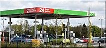 J0154 : ASDA petrol station, Portadown (May 2016) by Albert Bridge