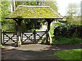 SO8449 : Lychgate at Kempsey church by Philip Halling