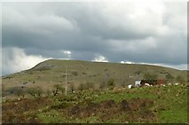 SO5876 : View towards Titterstone Clee Hill from Dhustone by Alan Murray-Rust
