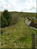SO5876 : Clee Hill quarries incline top by Alan Murray-Rust
