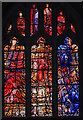 SK5804 : Richard III window (east), Leicester Cathedral by Julian P Guffogg