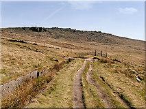 SD9617 : Blackstone Edge Moor, Broad Head Drain by David Dixon
