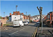 SK5838 : Colwick Road and The City Ground by John Sutton