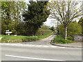 TM1851 : Wash Lane, Witnesham by Adrian Cable