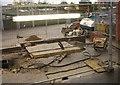 SU8155 : Building new cycle racks for Fleet by Sandy B