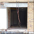 SP3576 : Detail of the south end of derelict Calcott House, Willenhall, Coventry by Robin Stott