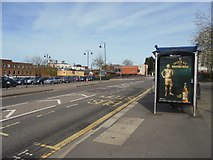 SU6351 : Bus stop on New Road by Sandy B
