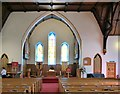 SH7882 : Inside St John's Methodist Church by Gerald England