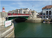 SY6778 : Town Bridge, Weymouth by pam fray