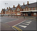 SO5140 : West side of Hereford railway station by Jaggery