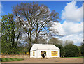 SP3645 : Video Tent at Upton House by Des Blenkinsopp
