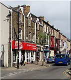 SS7597 : Peter Morgan estate agents office, Neath by Jaggery