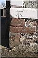 NY6822 : Benchmark on Clickham Farm by Roger Templeman