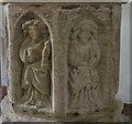 TA1004 : Font detail, All Hallows church, Clixby by Julian P Guffogg