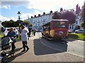 SH7882 : An old bus returns to Llandudno by Gerald England