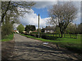 TL9694 : Entering Lower Stow Bedon by Hugh Venables