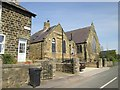 SE2562 : Former  Wesleyan  Chapel  and  School  in  Shaw  Mills by Martin Dawes