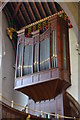 SK5804 : Organ, Leicester Cathedral by Julian P Guffogg