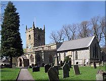 SK2176 : Eyam Parish Church by Stephen Burton