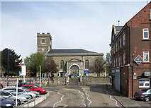 TQ7369 : St Nicholas's Church, Strood by Des Blenkinsopp