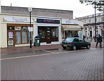SS7597 : Station Square shops, Neath by Jaggery