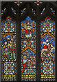 TA1101 : Stained glass window, Ss Peter & Paul church, Caistor by Julian P Guffogg