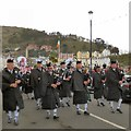SH7882 : A pipe band by Gerald England