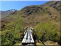 NH0017 : Footbridge over the Allt Grannda by John Allan