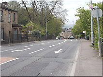 SE1115 : Manchester Road - viewed from Whiteley Street by Betty Longbottom