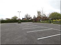 TM1551 : Henley Community Centre Car Park by Geographer